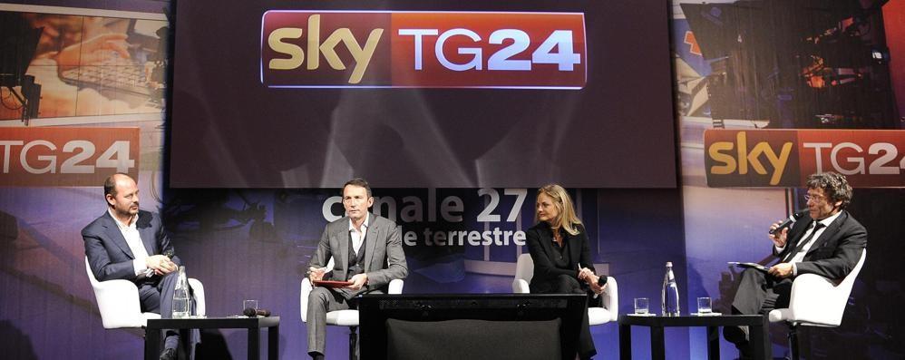 Sky Tg24 va in chiaro sul canale 27 70% di notizie, poi documentari e film