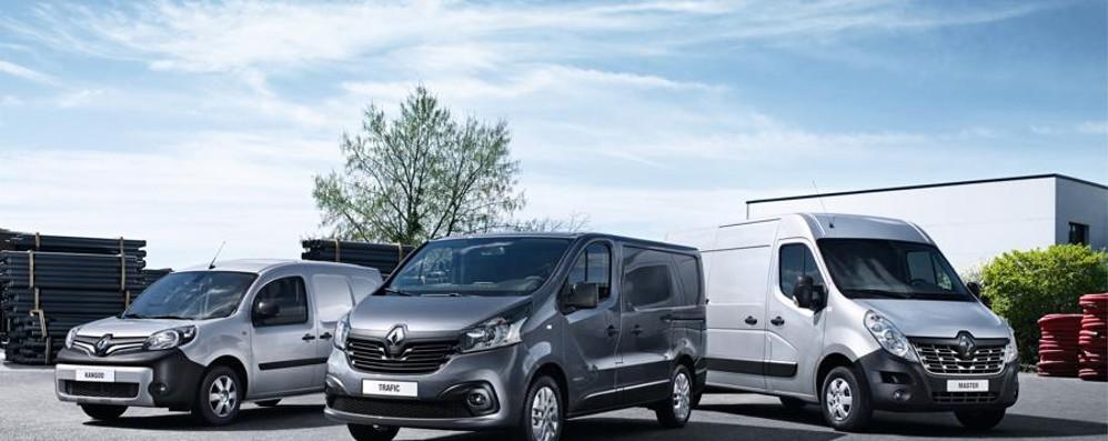 Veicoli commerciali leggeri Parte il tour Renault