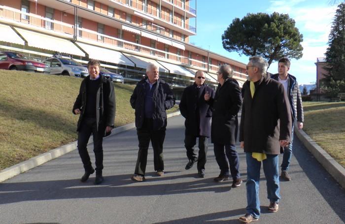 La visita di Maroni a Clusone
