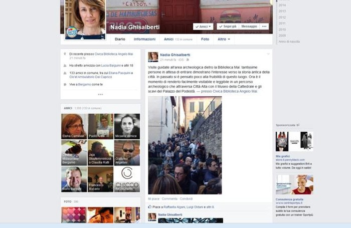 Il post di Nadia Ghisalberti