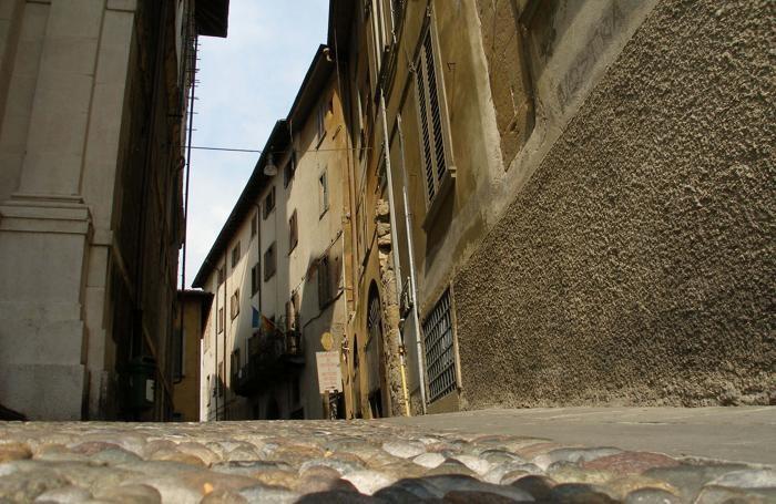Vicolo Aquila Nera, in Città Alta