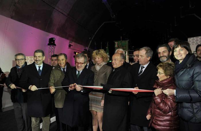 Varese . inaugurazione della prima tratta della Pedemontana