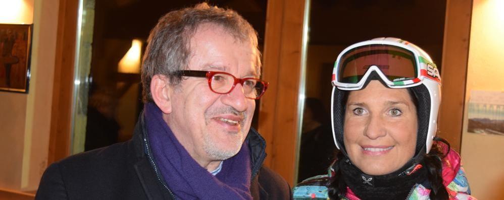 Non solo presidente della Regione Maroni «diplomato» in maestro di sci
