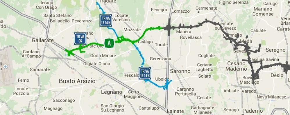 Aperto il primo tratto di Pedemontana Un'alternativa all'A8 per Malpensa