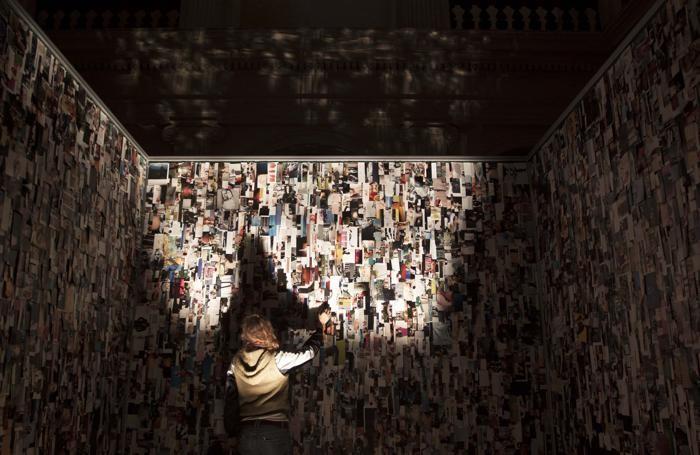 L'installazione di Clara Luiselli