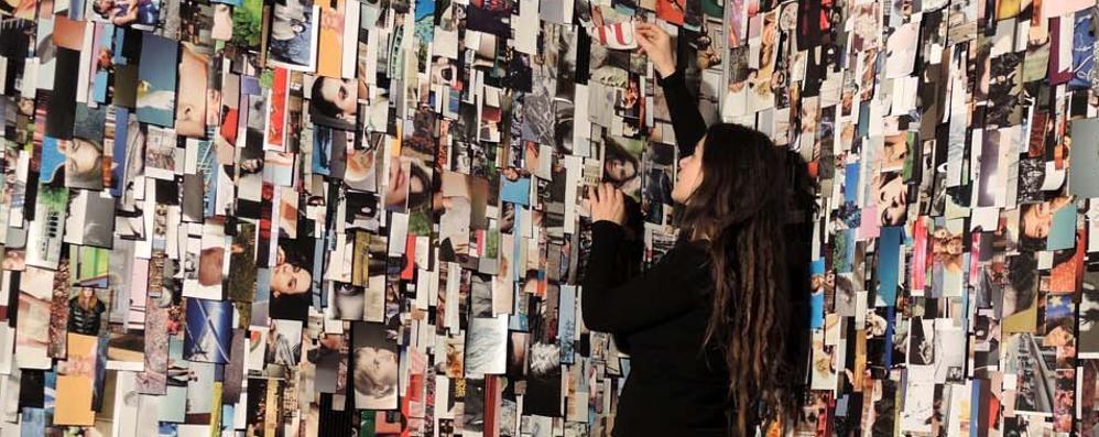 Al via «Se tremo sull'orlo» La personale di Clara Luiselli