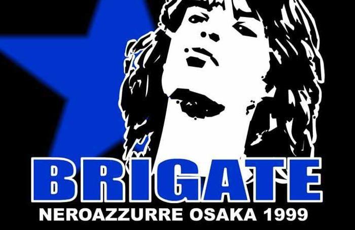 Lo stemma delle Brigate neroazzurre Osaka 1999