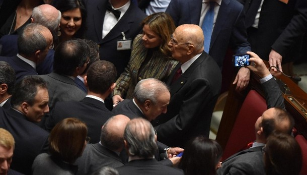 Napolitano, assoluta lealtà Mattarella