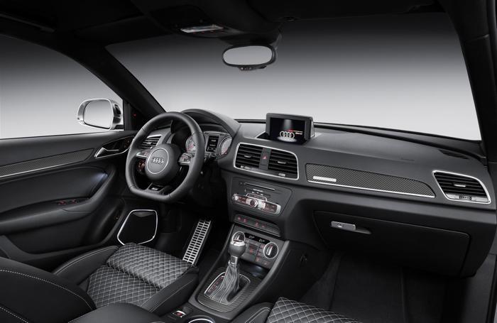 L'interno dell'Audi Q3