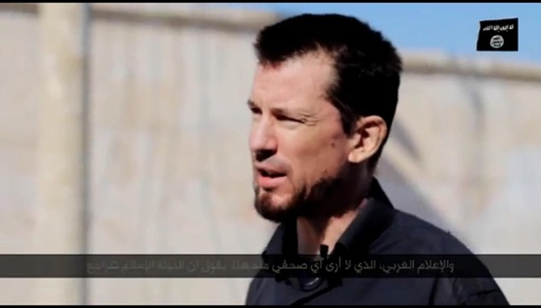 Isis: nuovo video ostaggio Gb Cantlie