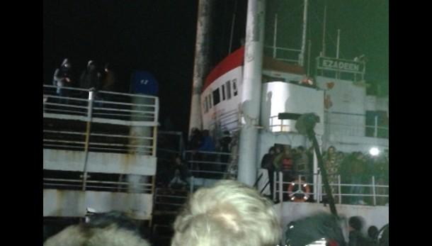 Sbarcati da Ezadeen, a bordo 74 minori