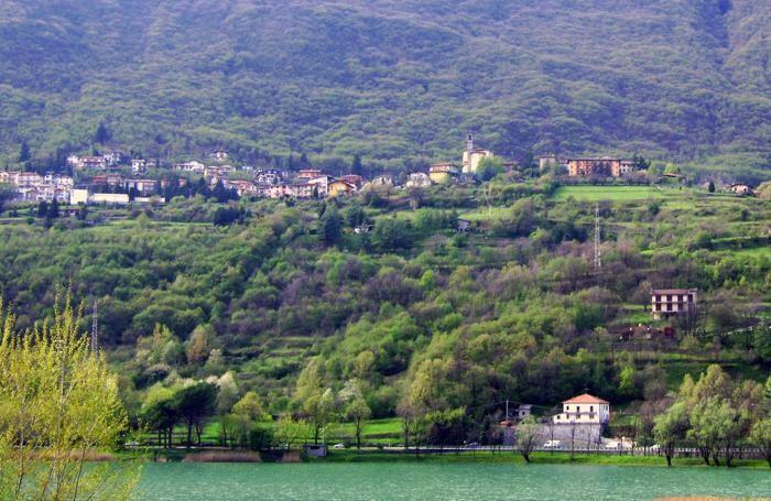 Un panorama di Ranzanico