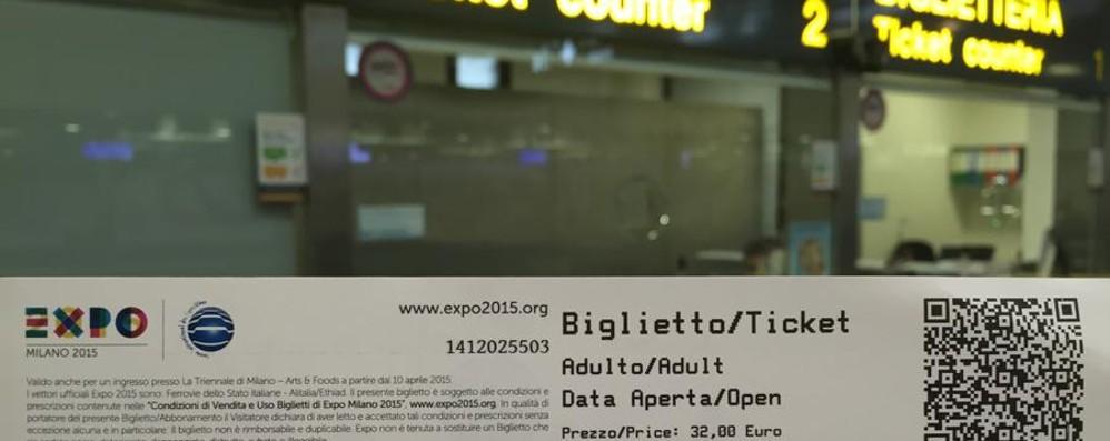 I biglietti dell'Expo prendono il volo Si possono comprare anche a Orio