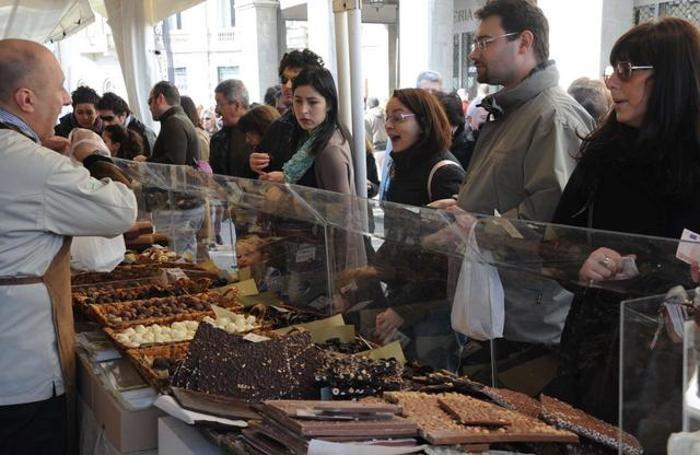 Fiera del cioccolato sul Sentierone