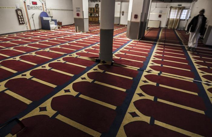 La moschea in via Quarenghi, a Bergamo