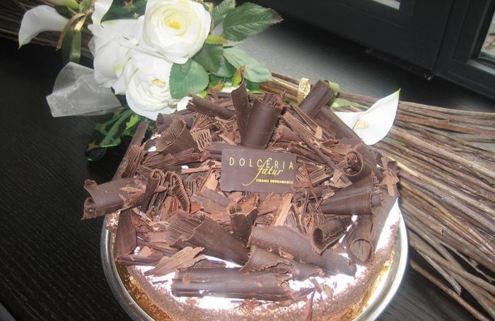 Una torta della Dolceria Fatùr