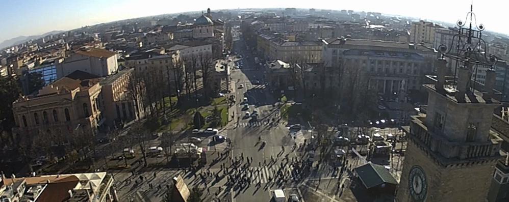 Bergamo,  il centro da ritrovare Inizia la nostra nuova  inchiesta