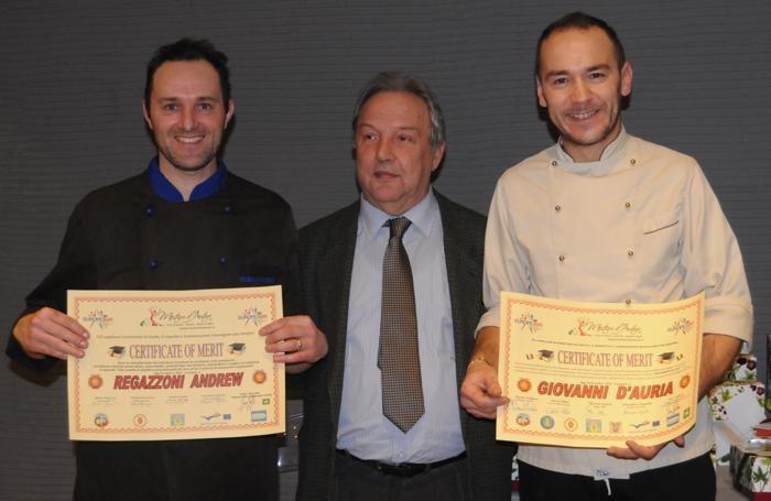Da destra Giovanni D'Auria, Ivar Foglieni, Andrew Regazzoni