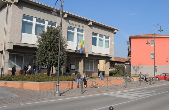 Il municipio di Boltiere