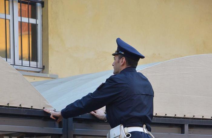 I controlli della polizia di Treviglio