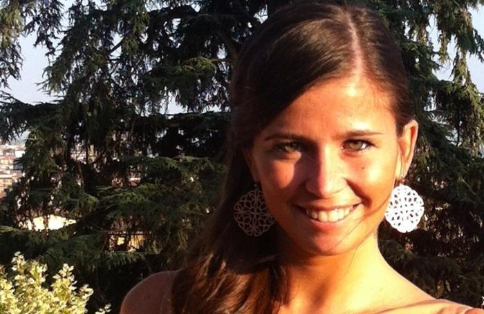 Alessandra Allegrini, 25enne di Bergamo. Sopra Michela Macalli, 33 anni, di Casnigo