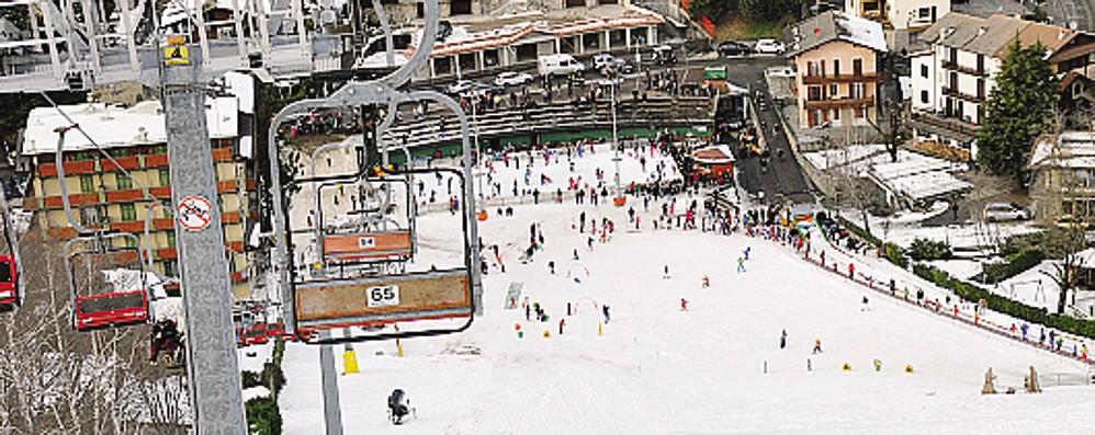 Tornano gli sciatori al Purito Una giornata storica per Selvino