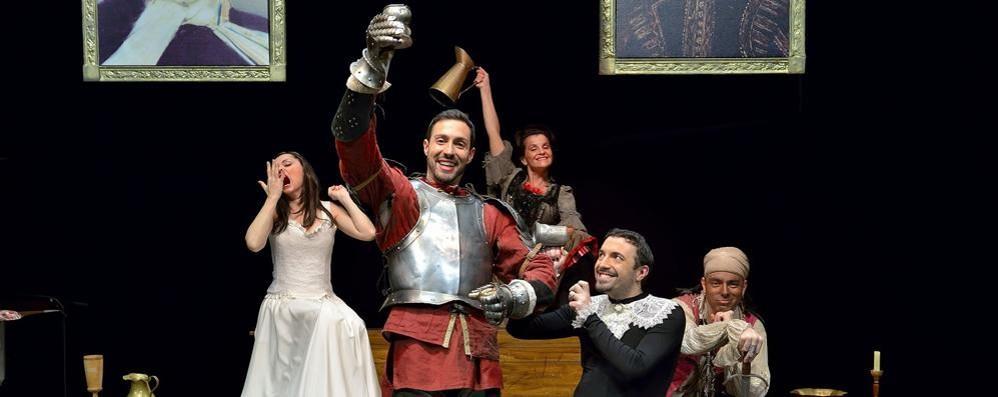 Dopo Renzo e Lucia... Othello Si ride con gli Oblivion a teatro