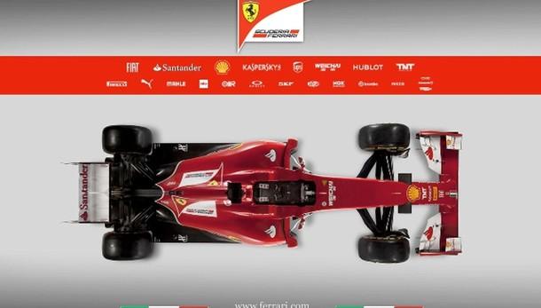 F1: Ferrari 2015 svelata online il 30/1