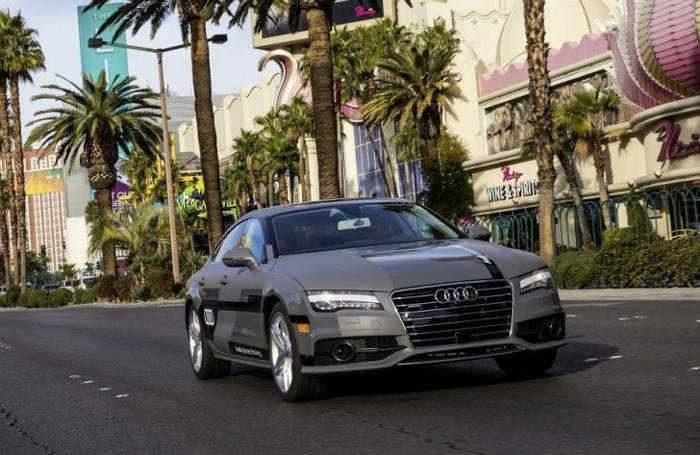 L'Audi che guida da sola