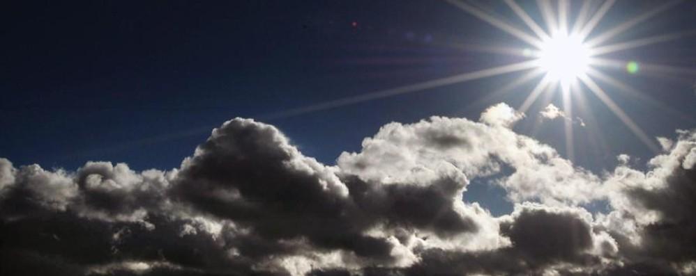 Un sabato con sole splendente Ma domenica torna il freddo