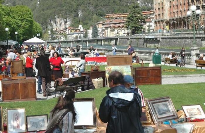 Il mercatino a San Pellegrino