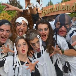 Gardaland Halloween con Piccinini e Lucchetta