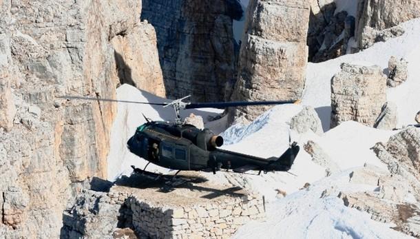 Salvi tedeschi bloccati nelle Dolomiti