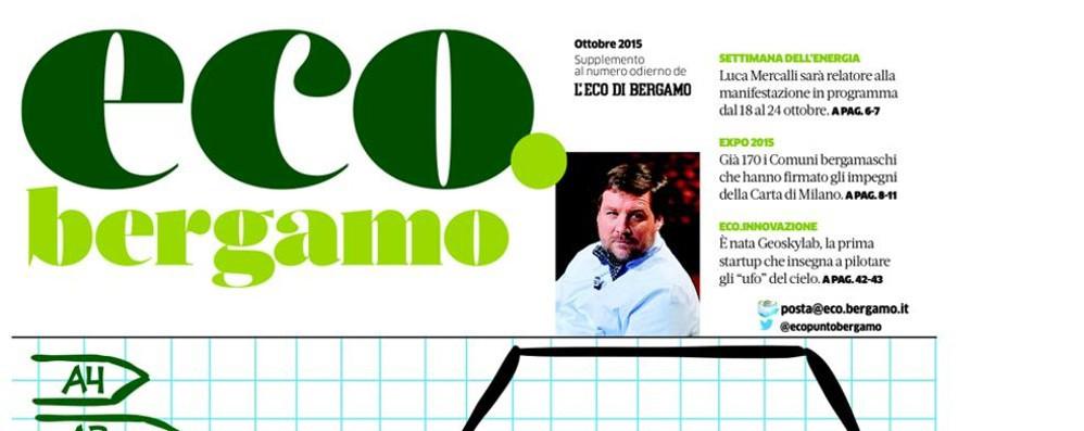 In edicola la rivista eco.bergamo gratis con L'Eco di Bergamo