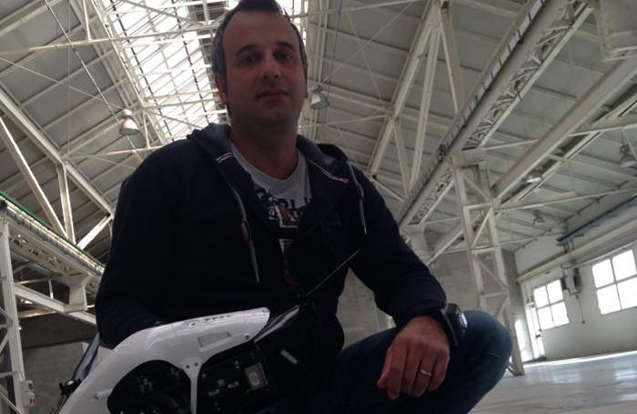 Carlo Facchetti titolare della startup Geoskylab