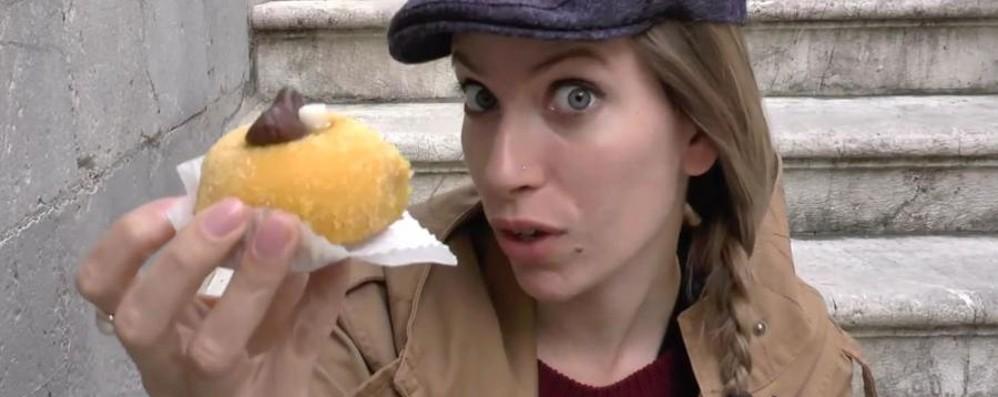 Video-blogger canadesi in Città Alta La polenta e osei sbarca su YouTube