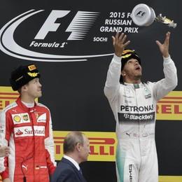 F1, in Russia vince Hamilton Seconda la Ferrari di Vettel