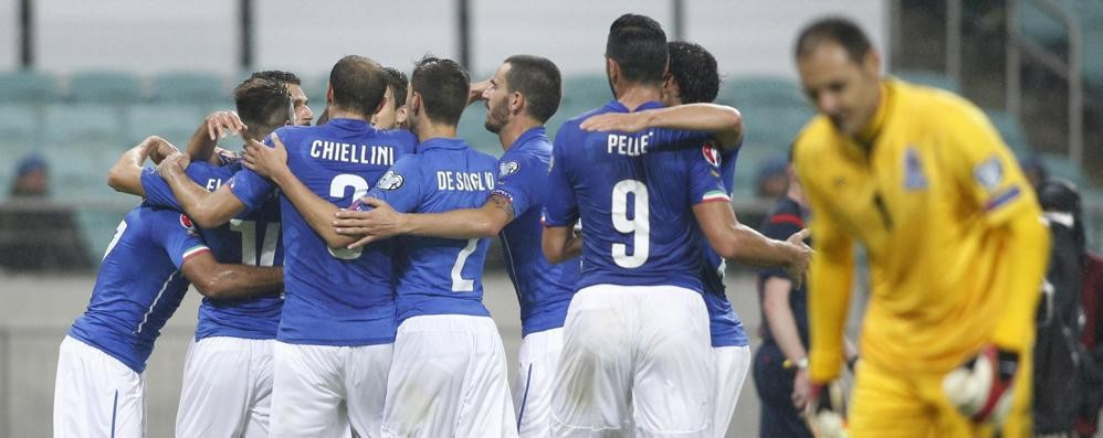 L'Italia qualificata a Euro 2016 Piegato l'Azerbaigian per 3-1