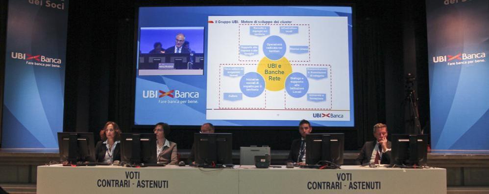 Ubi Banca si trasforma in Spa Un plebiscito all'assemblea di Brescia
