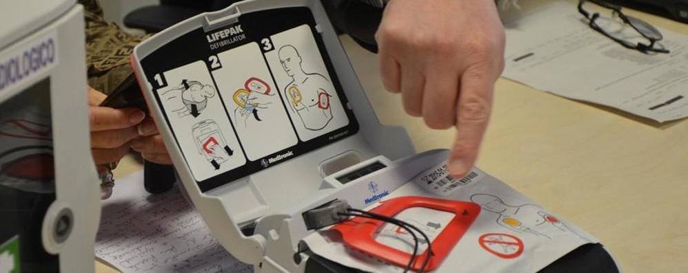 Dal Sentierone a Città Alta Arrivano i primi 5 defibrillatori pubblici