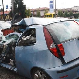 Il mortale sull'A4 a Capriate