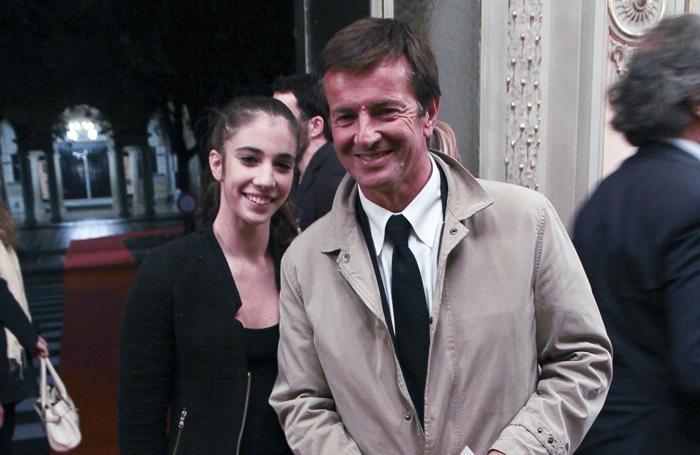 Giorgio Gori e la figlia