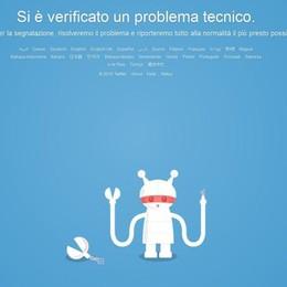 Twitter funziona a singhiozzo Raffica di segnalazioni dal web