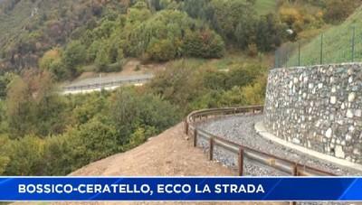 Bossico-Ceratello, ecco la nuova strada