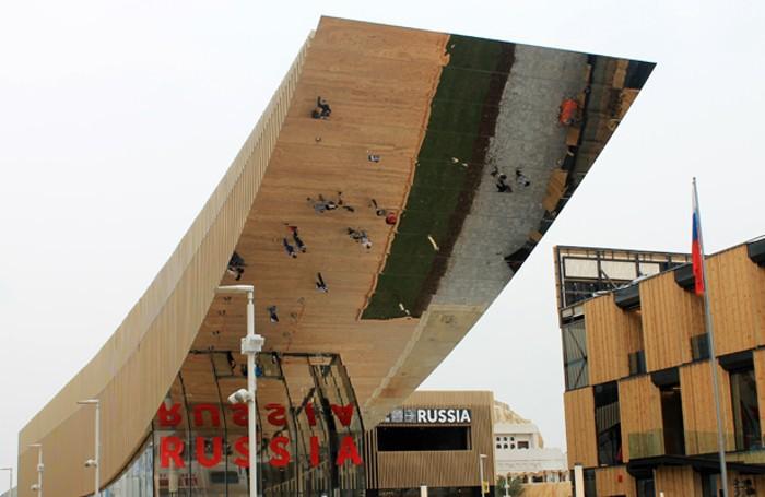 Il padiglione della Russia a Expo