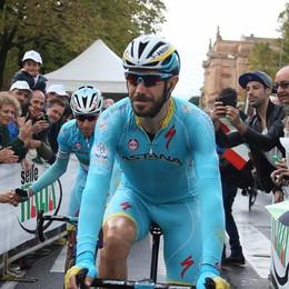 In bici per incontrare il Papa E Alessandro Vanotti tira il gruppo