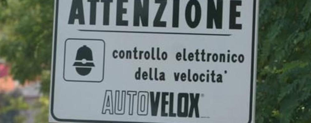 Lovere, autovelox all'uscita della galleria Prove tecniche prima del via alle multe