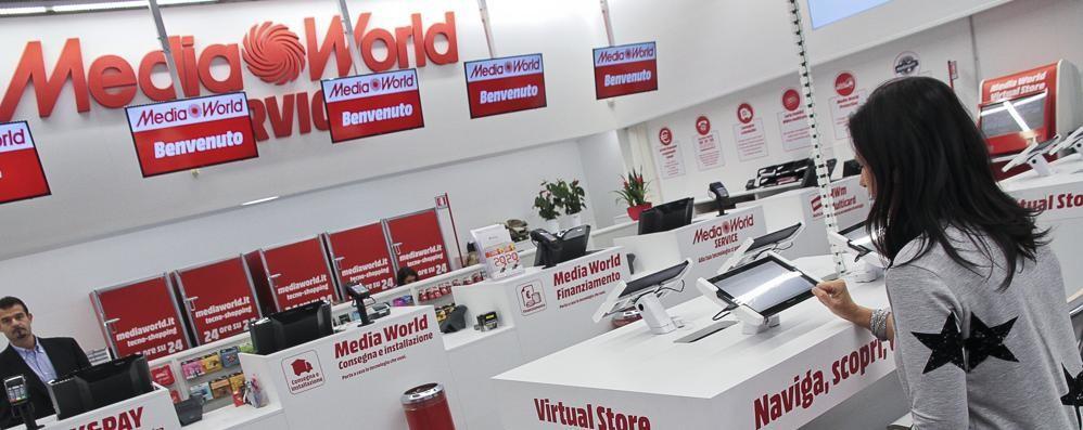 MediaWorld, rivoluzione digitale Lo store di Curno apripista in Italia