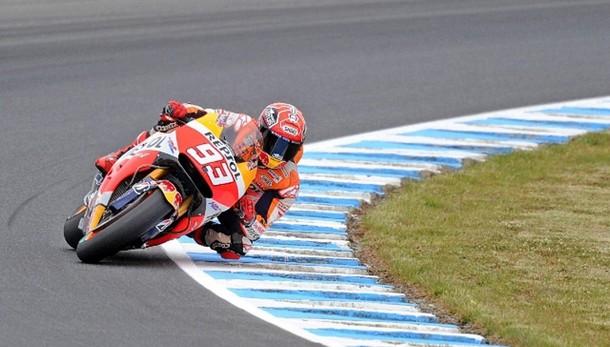 MotoGp: Australia, Marquez domina libere
