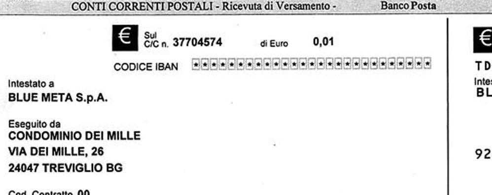 Richiesta di pagamento a un condominio  Il Gas: «Ci dovete 0,01 euro di arretrato»